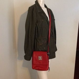 Tignanello Crossbody Leather Bag